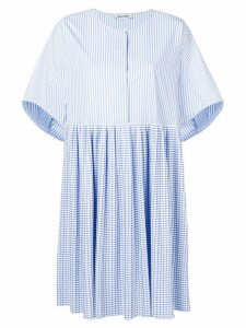 Henrik Vibskov Cooling flared dress - Blue