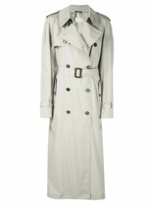 Maison Margiela belted trench coat - Neutrals