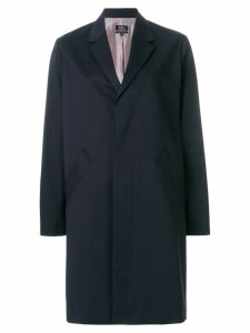 A.P.C. long blazer coat - Blue