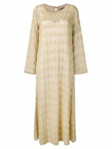 Missoni knitted maxi dress - Neutrals
