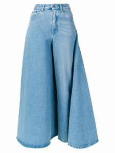 Y/Project deconstructed skirt jeans - Blue
