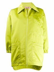 Nº21 oversized zipped jacket - Green