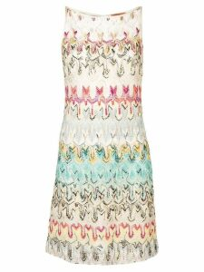 Missoni patterned crochet dress - Neutrals