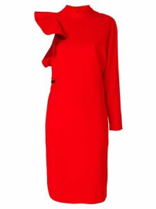 Givenchy asymmetric dress - Red