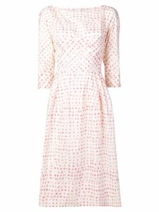 Marni printed midi dress - Neutrals