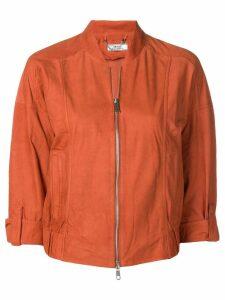 Desa 1972 cropped sleeve bomber jacket - Orange