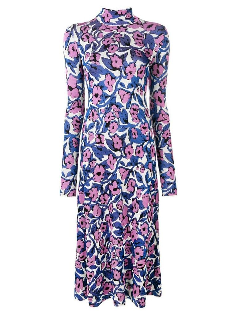 Christian Wijnants floral maxi dress - Pink