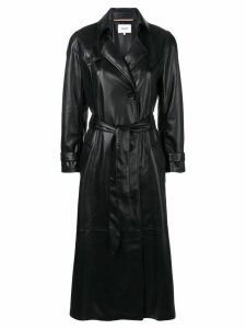 Nanushka belted trench coat - Black
