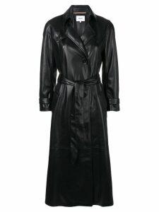 Nanushka belted trench coat - Black