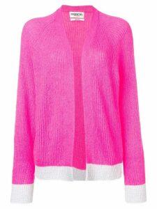 Essentiel Antwerp ribbed open cardigan - Pink