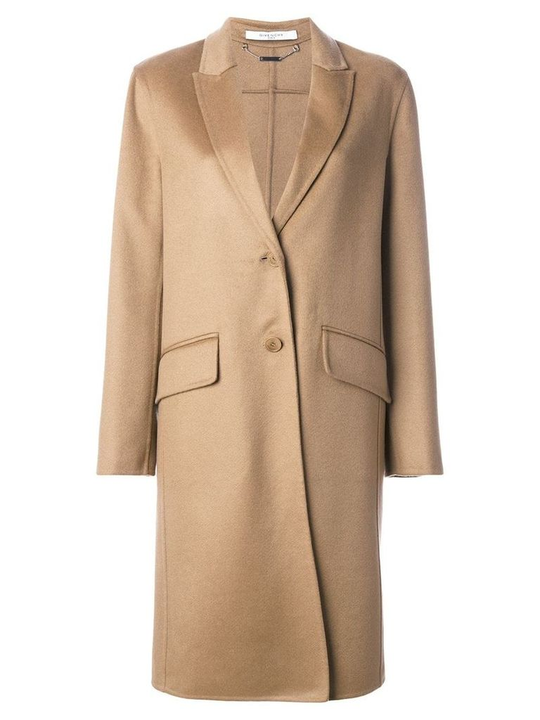 Givenchy single-breasted coat - Brown
