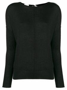 Forte Forte tie back sweater - Black