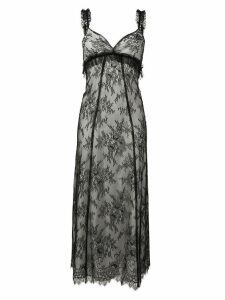 Alexa Chung lace midi dress - Black