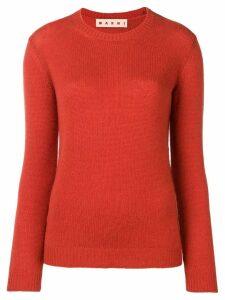 Marni slim jumper - Orange