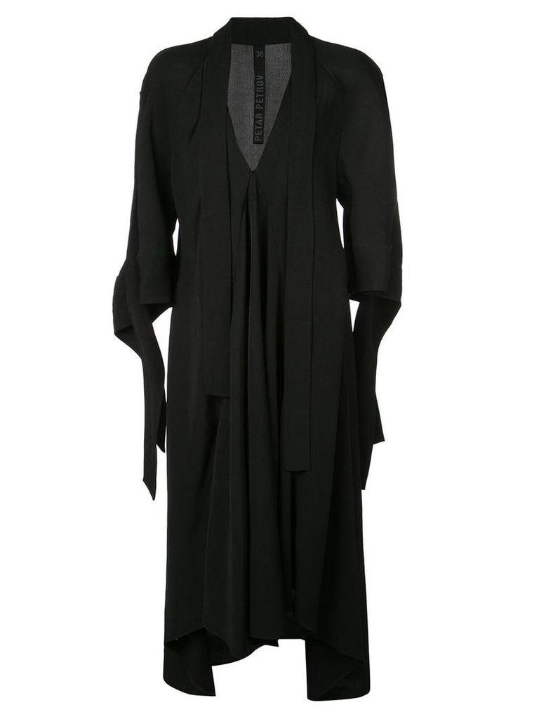 Petar Petrov Dillon embellished dress - Black