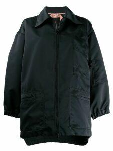 Nº21 oversized zipped jacket - Blue