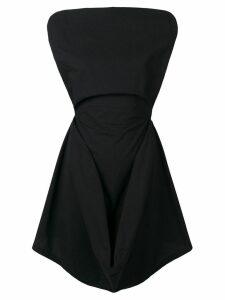 Mm6 Maison Margiela sleeveless mini dress - Black
