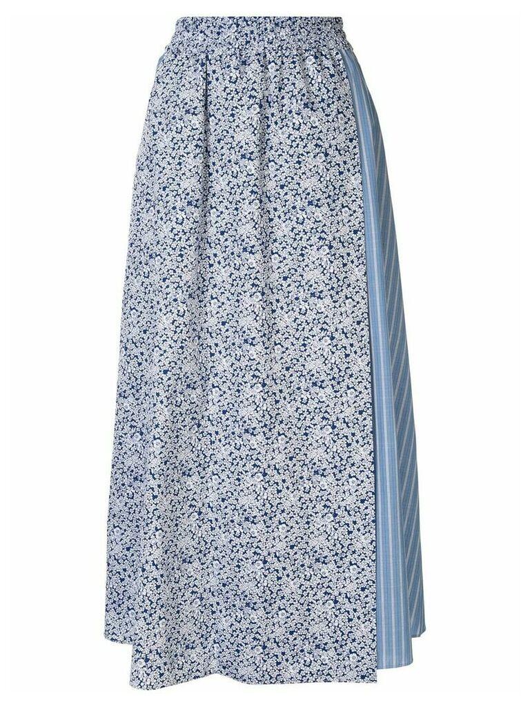 Walk Of Shame patterned easy skirt - Blue