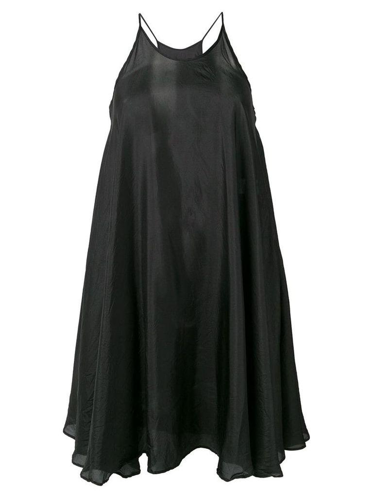 Katharine Hamnett London flared short dress - Black
