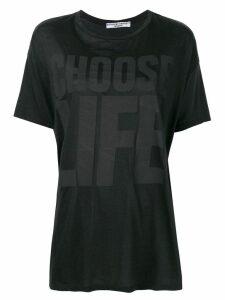 Katharine Hamnett London oversized T-shirt - Black