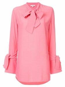 Layeur tie neck blouse - Pink