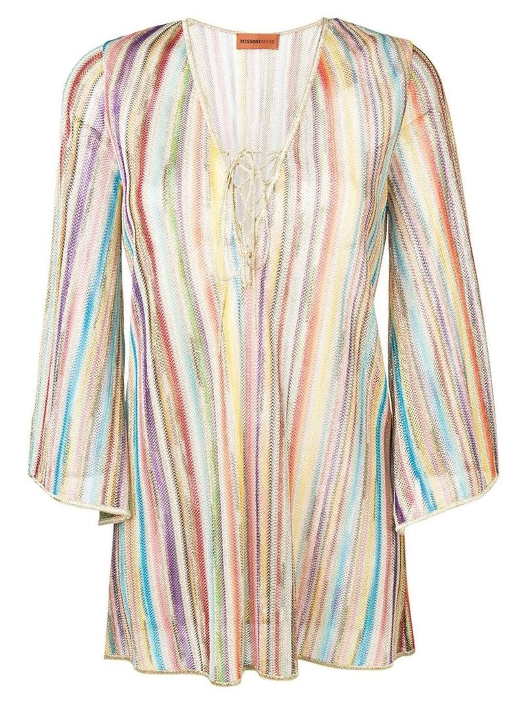 Missoni Mare striped blouse - Neutrals