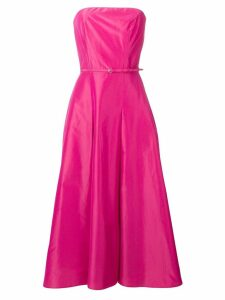 Aspesi strapless flared dress - Pink