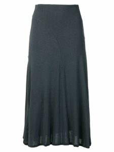 Toteme long jersey skirt - Blue