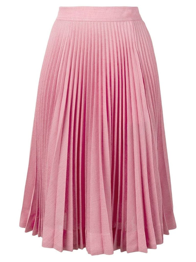Calvin Klein 205W39nyc pleated skirt - Pink