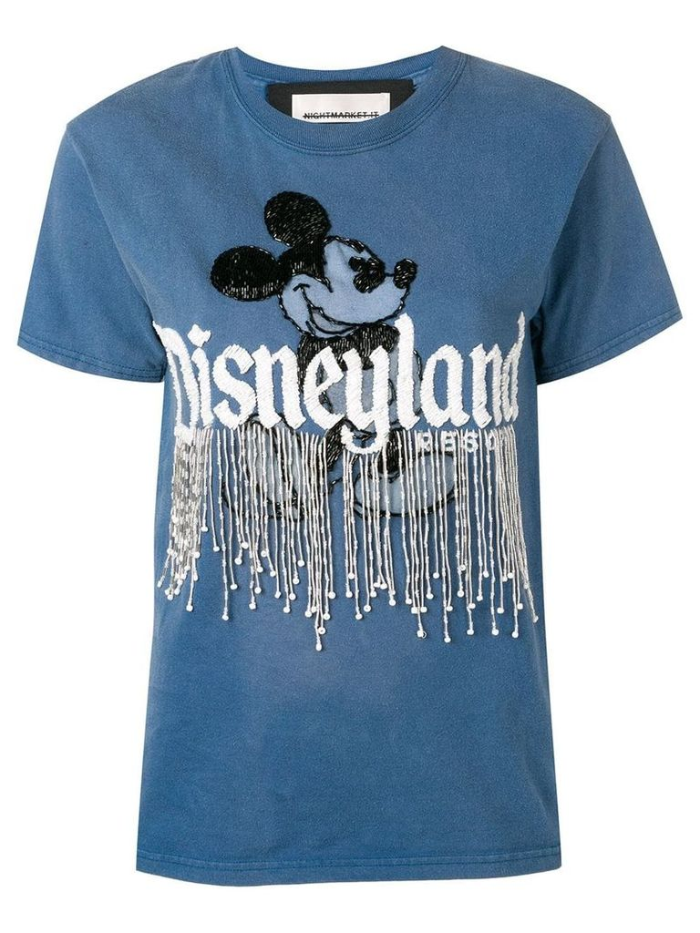 Night Market Disneyland T-shirt - Blue