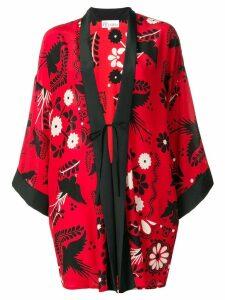 Red Valentino floral print kimono - Mmo Fiamma