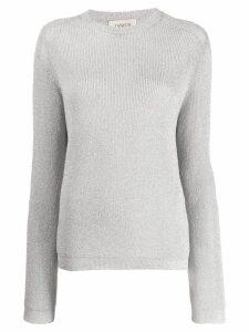 Laneus classic knit sweater - Silver