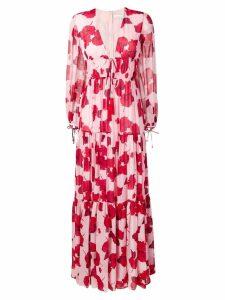 Borgo De Nor Freya floral print maxi dress - Pink