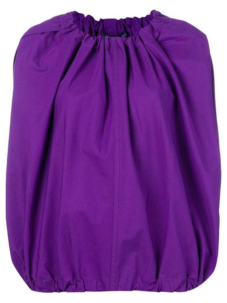 Sofie D'hoore balloon structured blouse - Purple