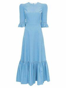 The Vampire's Wife Festival maxi dress - Blue
