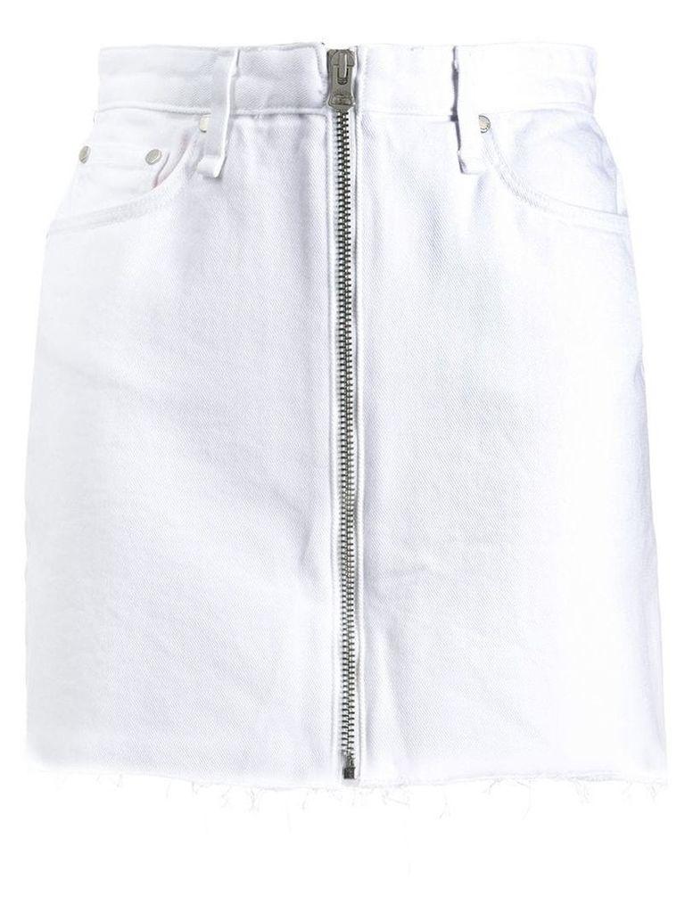 Rag & Bone Anna denim skirt - White