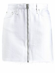 Rag & Bone Anna denim skirt - White