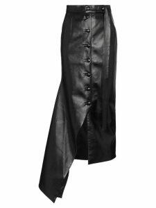 Matériel asymmetric midi skirt - Black