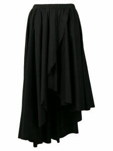 Federica Tosi asymmetric hem skirt - Black
