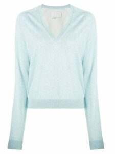 Zadig & Voltaire classic v-neck pullover - Blue