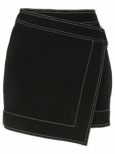 Dion Lee E-Hook mini skirt - Black