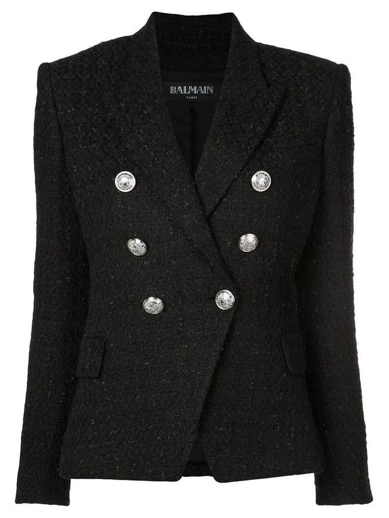 Balmain tweed blazer - Black