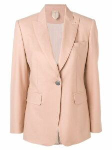 Max Mara classic single-breasted blazer - Neutrals