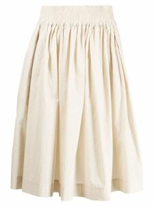Woolrich elasticated waist skirt - Neutrals