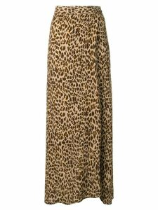 Andamane leopard print skirt - Brown