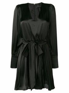 Federica Tosi belted slip mini dress - Black