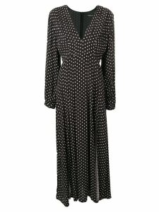 Andamane polka dot maxi dress - Black