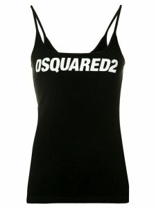 Dsquared2 logo tank top - Black