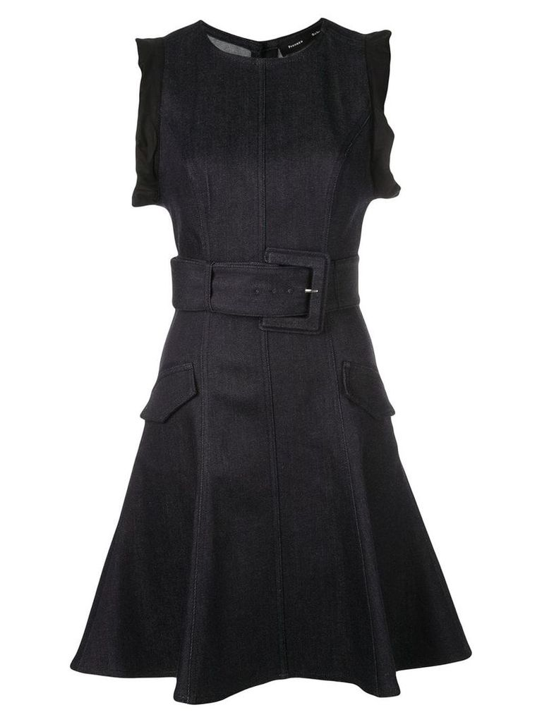 Proenza Schouler belted dress - Blue