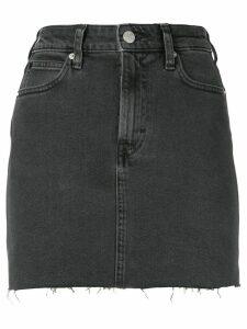 Calvin Klein Jeans fitted denim skirt - Black